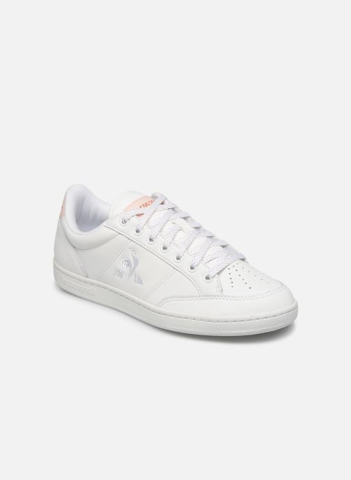 Trainers Le Coq Sportif Court Clay White detailed view/ Pair view