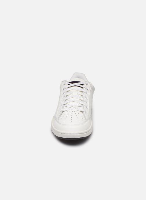 Baskets Le Coq Sportif Court Clay Blanc vue portées chaussures