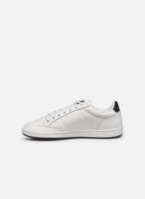 Sneakers Le Coq Sportif Court Clay Hvid se forfra