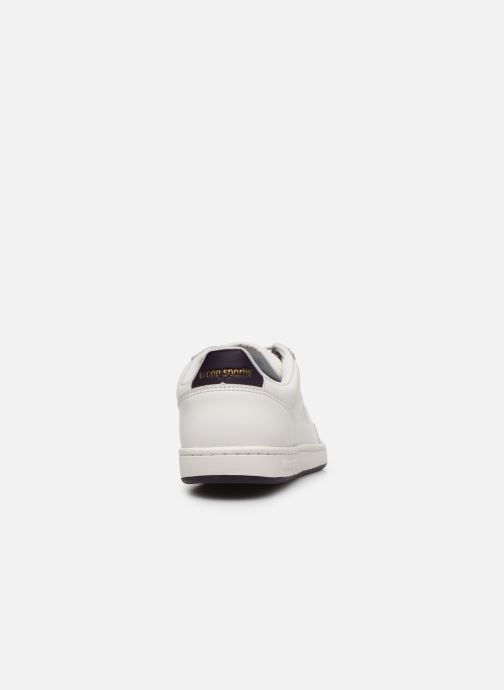Sneakers Le Coq Sportif Court Clay Hvid Se fra højre