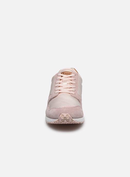 Sneakers Le Coq Sportif Jazzy W Rosa modello indossato