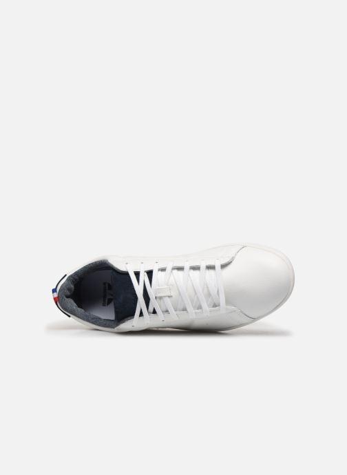 Baskets Le Coq Sportif Courtclassic Blanc vue gauche