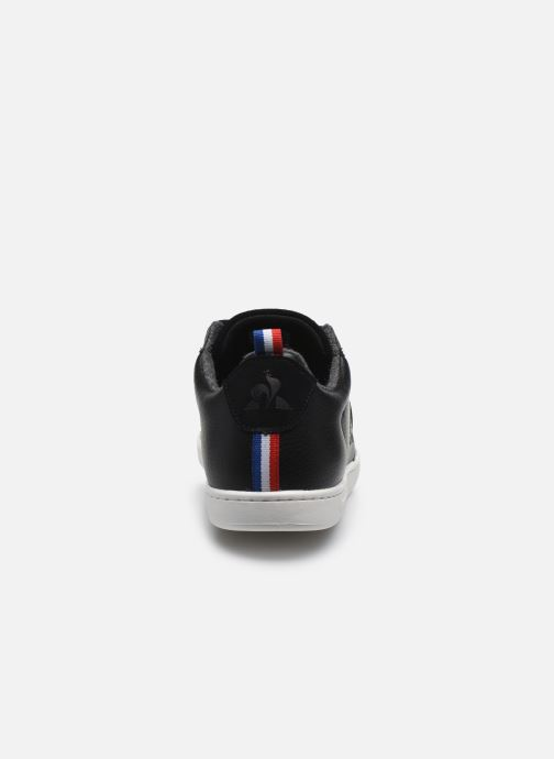 Baskets Le Coq Sportif Courtclassic Noir vue droite