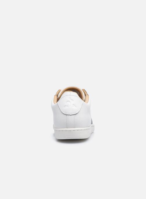 Baskets Le Coq Sportif Courtclassic Blanc vue droite