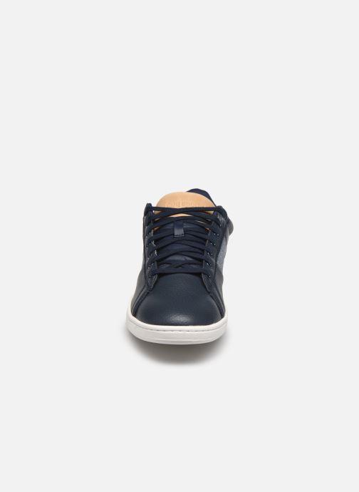 Sneakers Le Coq Sportif Courtclassic Azzurro modello indossato