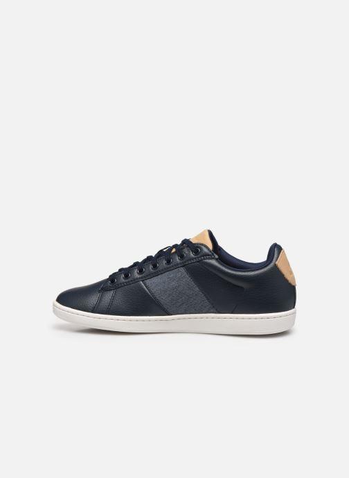 Sneakers Le Coq Sportif Courtclassic Azzurro immagine frontale