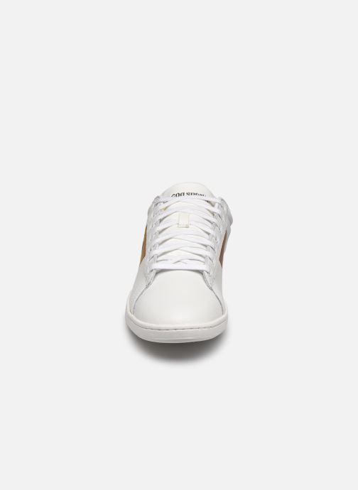 Sneaker Le Coq Sportif Courtclassic weiß schuhe getragen
