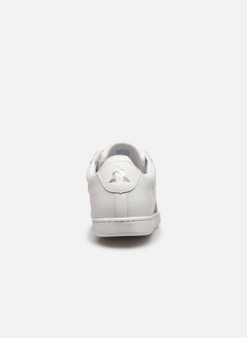 Sneaker Le Coq Sportif Courtclassic weiß ansicht von rechts