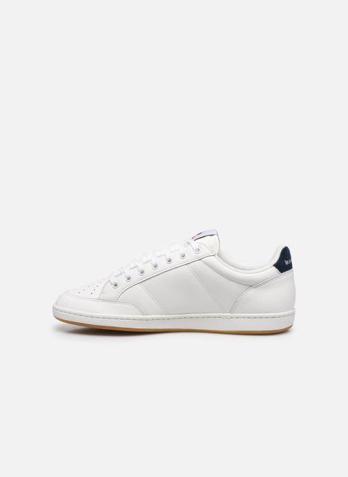 Sneakers Le Coq Sportif Courtclay Bianco immagine frontale