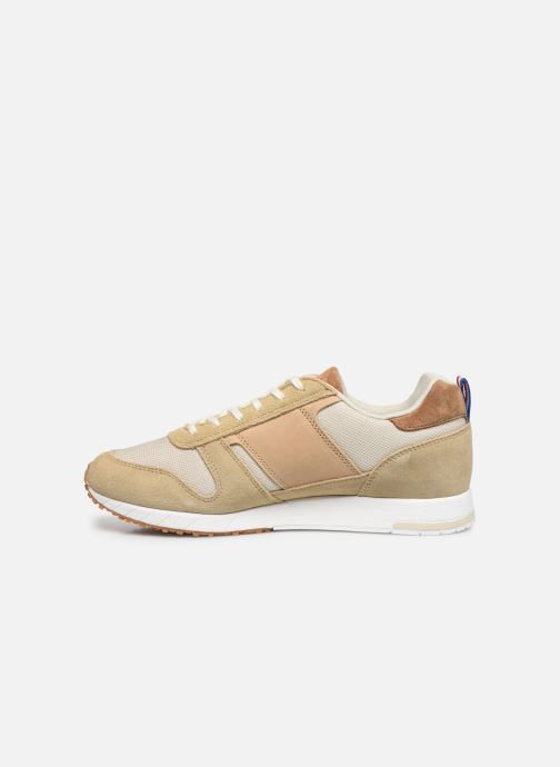 Trainers Le Coq Sportif Jazzy Classic Beige front view