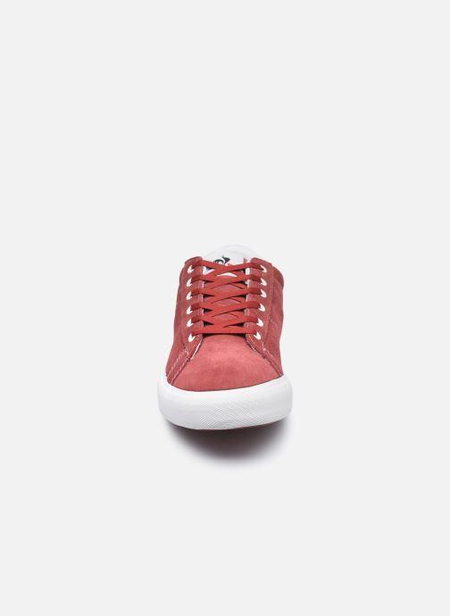 Baskets Le Coq Sportif Verdon Plus M Rouge vue portées chaussures