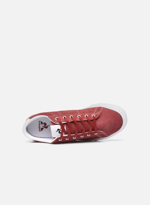 Baskets Le Coq Sportif Verdon Plus M Rouge vue gauche
