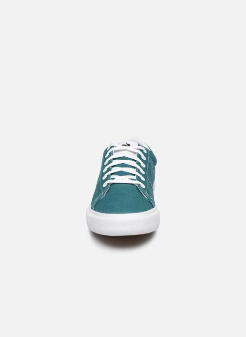Baskets Le Coq Sportif Verdon Plus M Vert vue portées chaussures