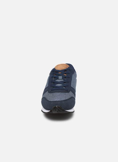 Baskets Le Coq Sportif Matrix Bleu vue portées chaussures