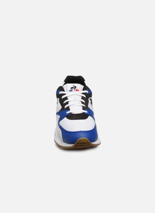Baskets Le Coq Sportif LCS R800 Bleu vue portées chaussures