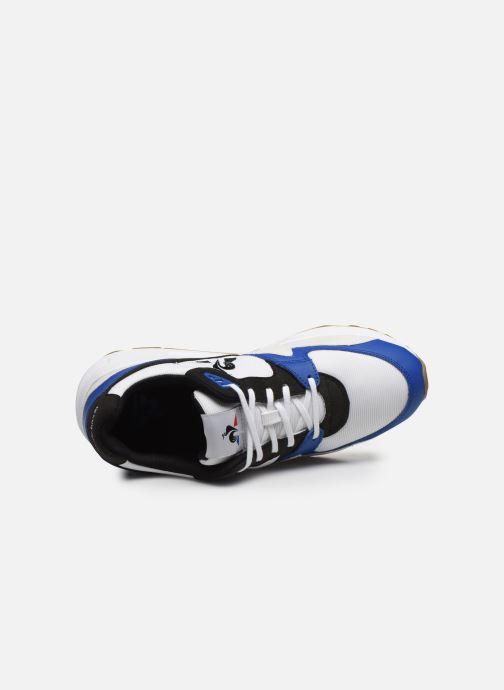 Baskets Le Coq Sportif LCS R800 Bleu vue gauche