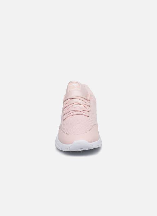 Baskets Kangaroos KF-A Glide C Rose vue portées chaussures