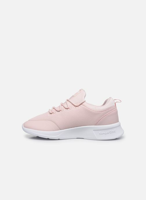 Trainers Kangaroos KF-A Glide C Pink front view