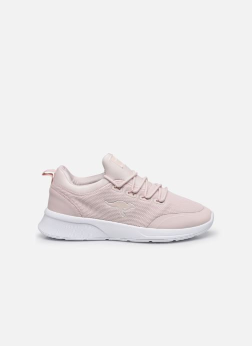 Trainers Kangaroos KF-A Glide C Pink back view
