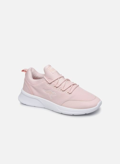 Trainers Kangaroos KF-A Glide C Pink detailed view/ Pair view