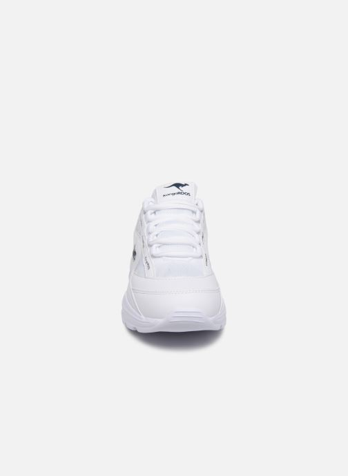 Baskets Kangaroos KW-Chunky C Blanc vue portées chaussures