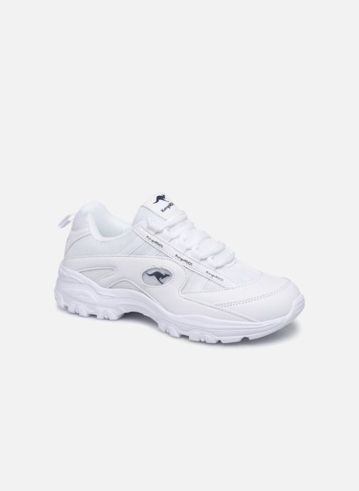 Baskets Kangaroos KW-Chunky C Blanc vue détail/paire