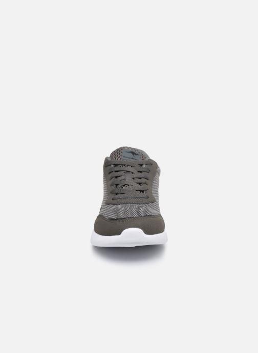 Baskets Kangaroos KL-A Essent C Gris vue portées chaussures