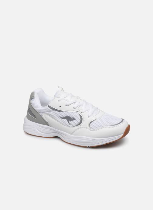 Baskets Kangaroos KP-Pow C Blanc vue détail/paire