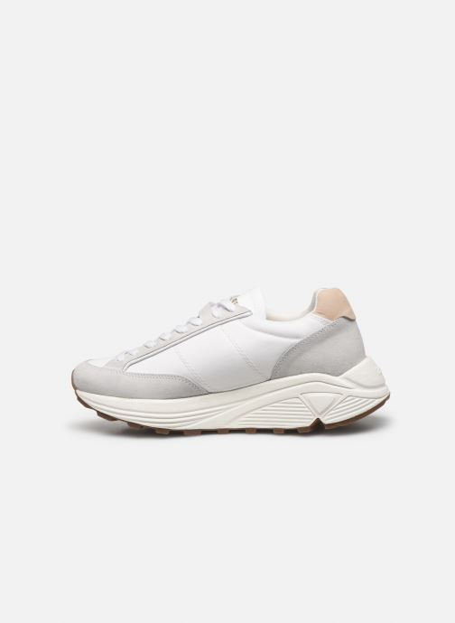 Sneakers Le Coq Sportif Dynatec Chunky Bianco immagine frontale
