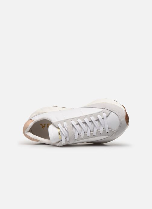Sneakers Le Coq Sportif Dynatec Chunky Bianco immagine sinistra
