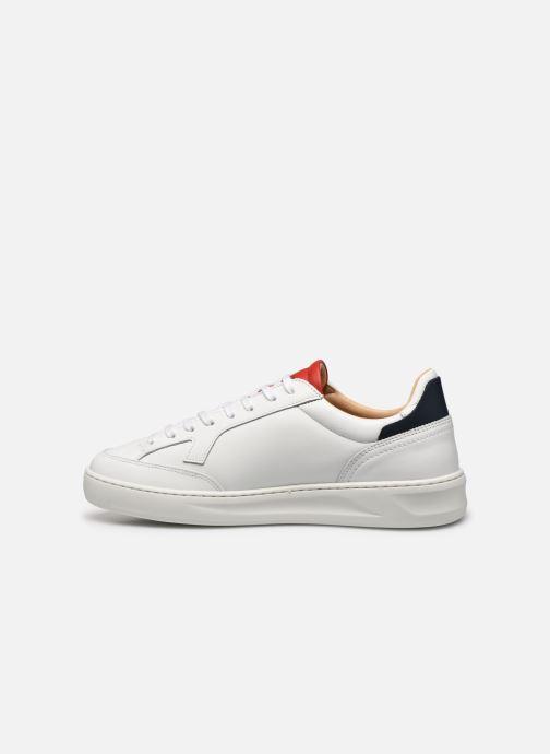 Sneakers Le Coq Sportif Triomphe Bianco immagine frontale