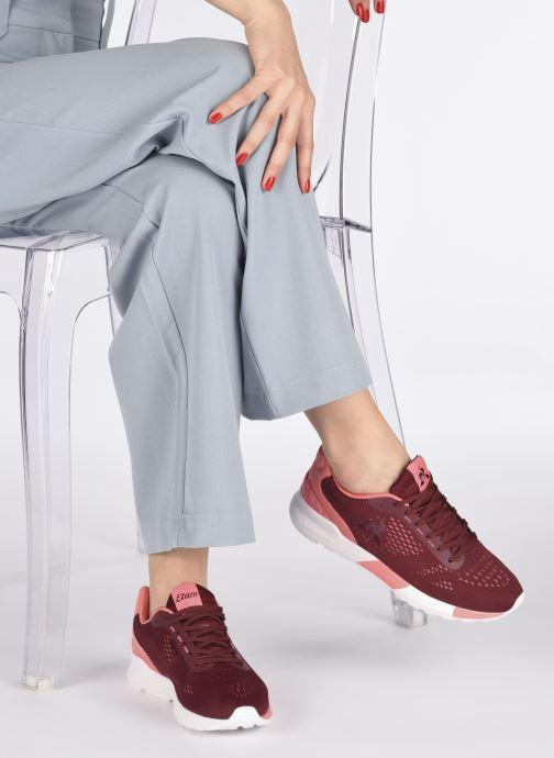 Sneaker Le Coq Sportif Omega Pro X Etam weinrot ansicht von unten / tasche getragen