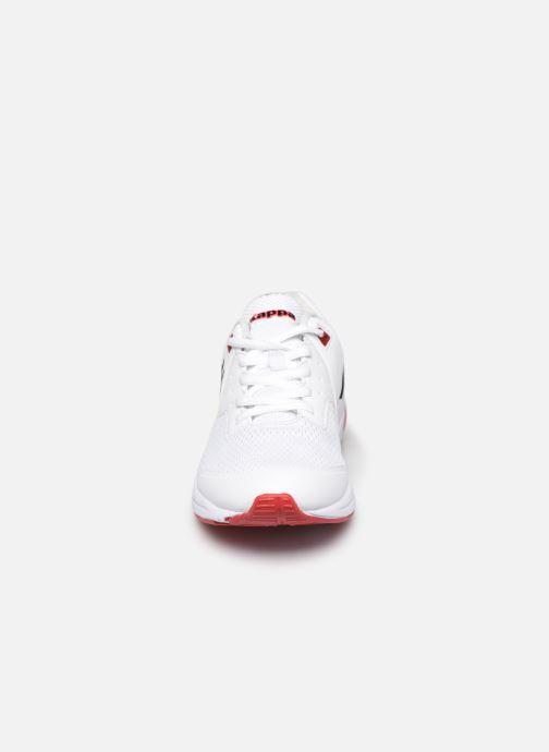 Baskets Kappa Snugger H Blanc vue portées chaussures