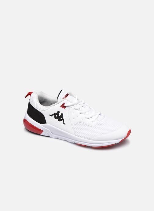 Baskets Kappa Snugger H Blanc vue détail/paire