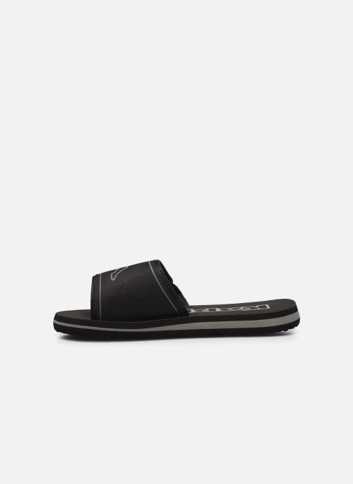 Sandales et nu-pieds Kappa Galea Noir vue face