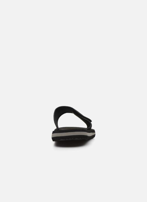 Sandales et nu-pieds Kappa Galea Noir vue droite