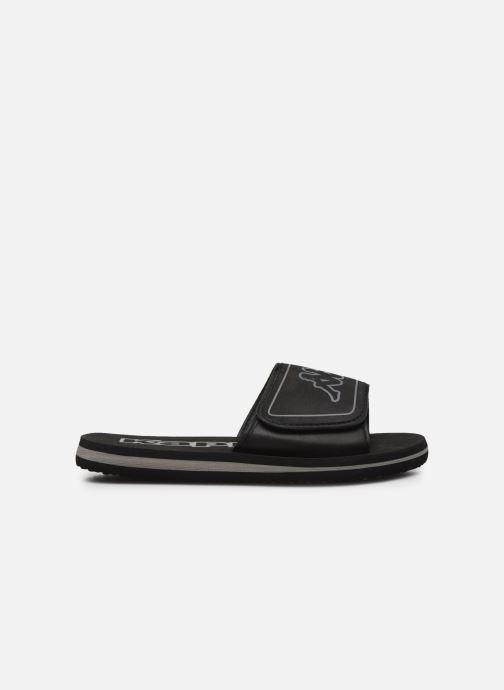 Sandales et nu-pieds Kappa Galea Noir vue derrière