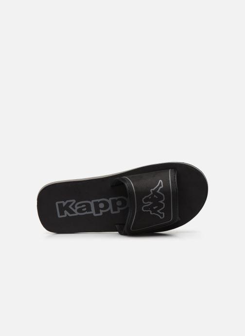 Sandales et nu-pieds Kappa Galea Noir vue gauche