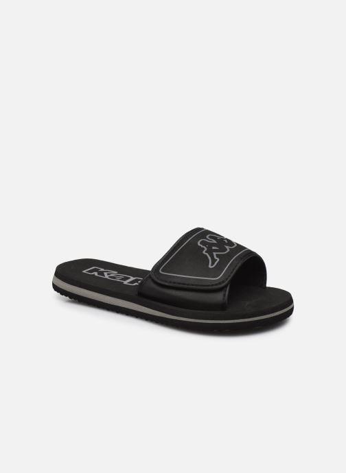 Sandales et nu-pieds Kappa Galea Noir vue détail/paire