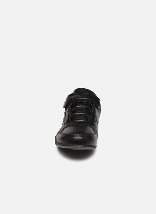 Baskets Kappa Talos EV Noir vue portées chaussures