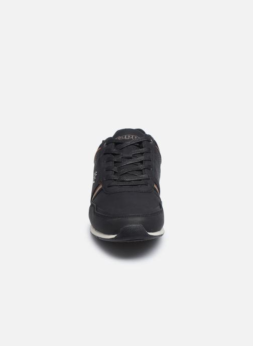 Baskets Kappa Tyler Noir vue portées chaussures