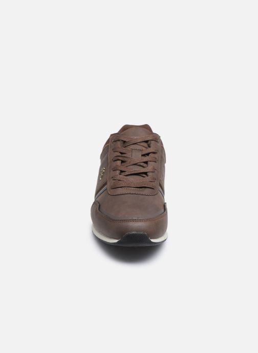 Baskets Kappa Tyler Marron vue portées chaussures