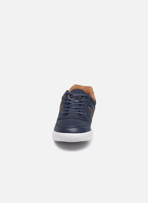 Baskets Kappa Madcol Bleu vue portées chaussures