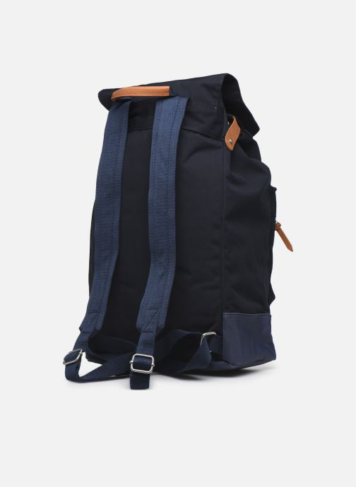 Sacs à dos Pepe jeans Regans Backpack Bleu vue droite