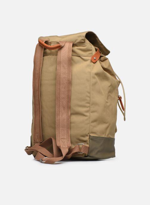 Mochilas Pepe jeans Regans Backpack Beige vista lateral derecha