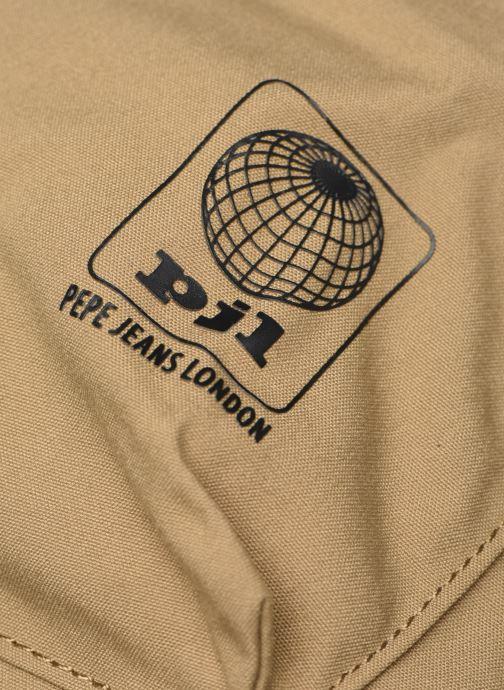 Zaini Pepe jeans Regans Backpack Beige immagine sinistra