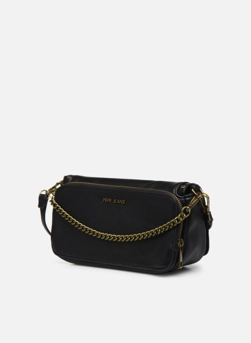 Handbags Pepe jeans Camilla Bag Black view from the right