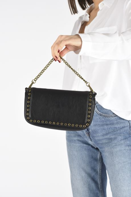 Handbags Pepe jeans Camilla Bag Black view from underneath / model view