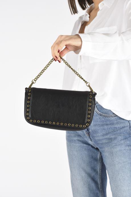 Sacs à main Pepe jeans Camilla Bag Noir vue bas / vue portée sac