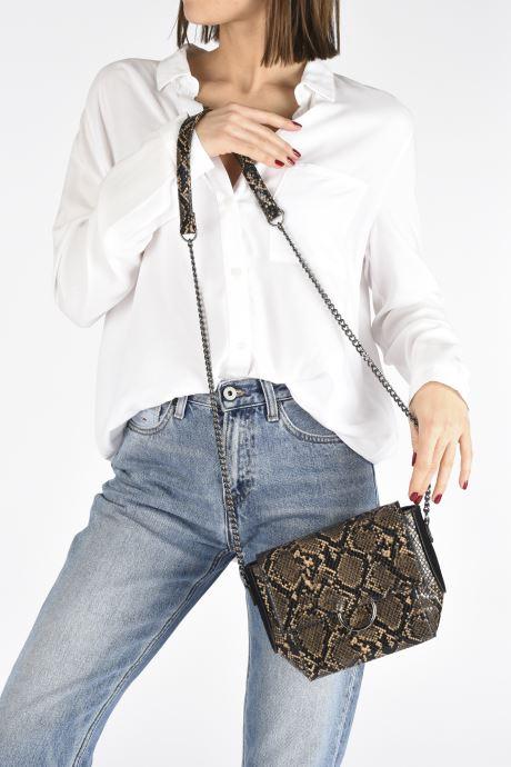 Sacs à main Pepe jeans Mara Bag Marron vue bas / vue portée sac